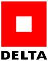Delta Logo 10,00 x 12,67 cm